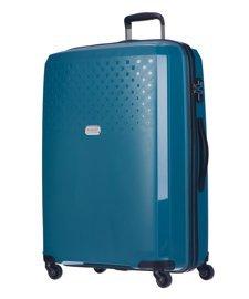 Duża walizka PUCCINI PP010 turkusowa