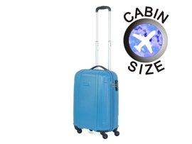 Mała walizka PUCCINI PC015 C błękitna